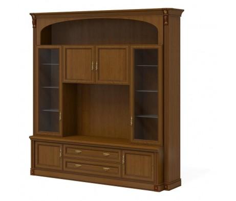 Шкаф-витрина для руководителя ПК-МР-КМШ№1-В3 Марсель