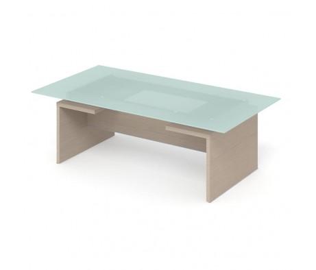 Стол для переговоров ПК-ДПК-СТГ230Х120СМ/Д-В3 Дипломат-кристалл