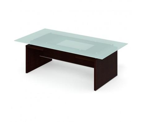 Стол для переговоров ПК-ДПК-СТГ230Х120СМ/Д-В4 Дипломат-кристалл