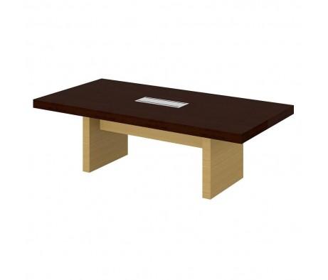 Стол для преговоров 240х120 ПК-СПК-СТГ240Х120-В1 Спикер