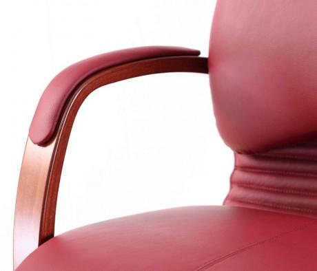 Кресло МАРА П, кожа, дерево