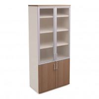 Шкаф стеклянный для документов H215xL90xS44 Prizma