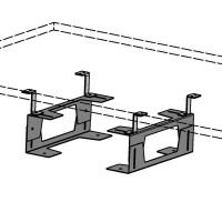 Держатель для системного блока глубина 37, высота 14,5 Polo