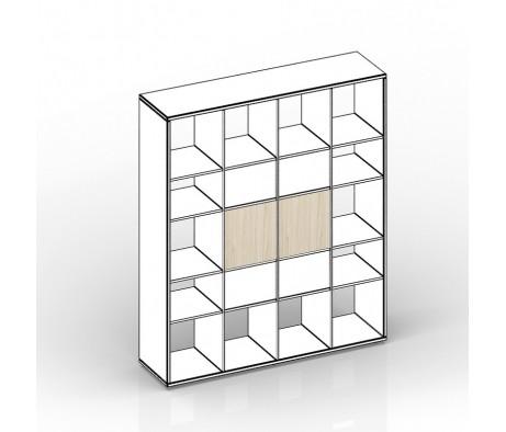 Комплект задних стенок больших для стеллажа 38,5х1,8х38,5 2шт Polo, Спэйс