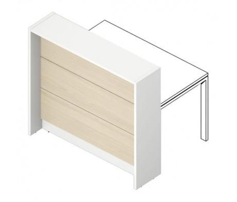 Отдельная стойка для рабочего стола 125х87х115 с навесными панелями Filo