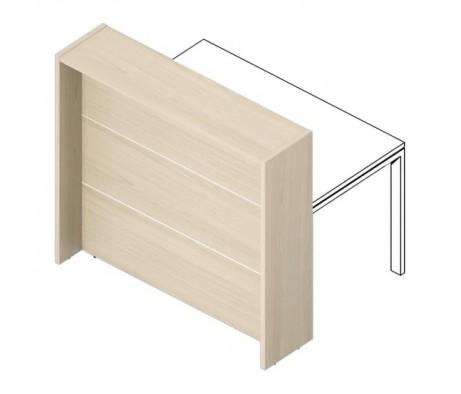 Отдельная стойка для рабочего стола 165х87х115 с молдингом Filo