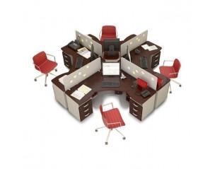 Серии мебели для персонала