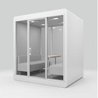 Акустическая кабина LWOP SIX-SEATER (задняя стенка стекло)