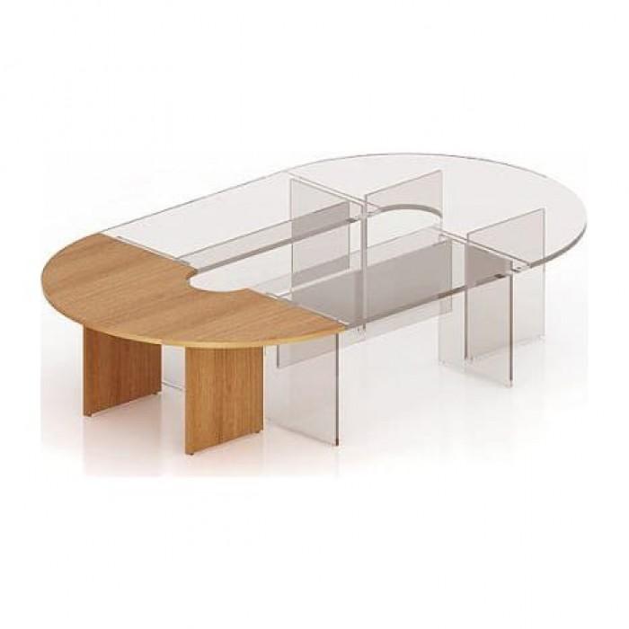 Стол для заседаний 1000х2000х768 (угловая секция) Эталон