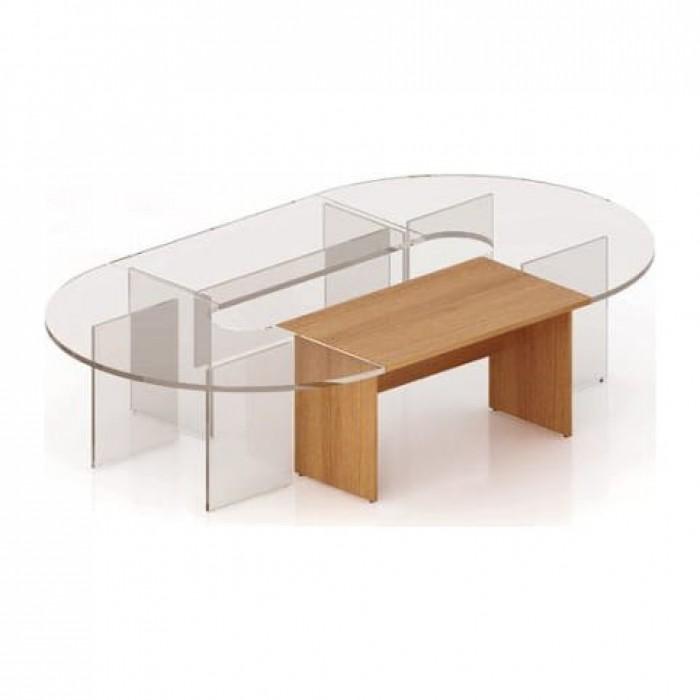 Стол для заседанний 1400х800х768 (прямая секция) Эталон