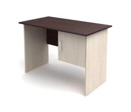 Стол 1-тумбовый с дверкой (1200х600х750) (тумба с права) СК50 Канц