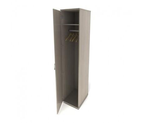 Шкаф для одежды узкий 374х520х2046 Монолит