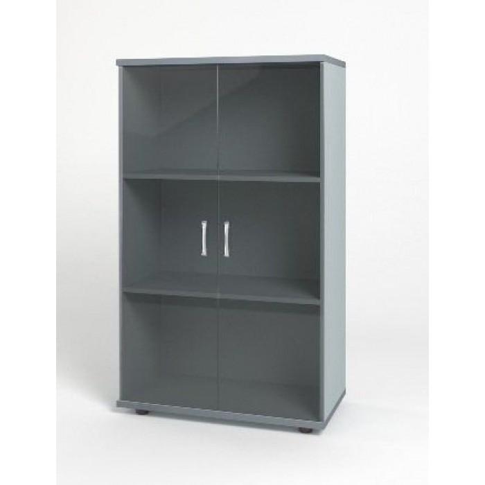 Шкаф средний 744х390х1252 КМ14 Монолит