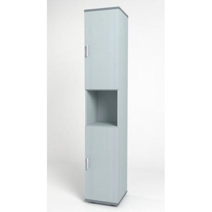 Шкаф узкий 374х390х2046 КМ10 Монолит