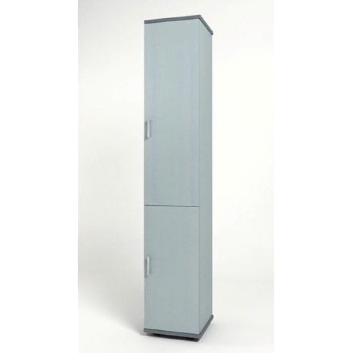 Шкаф узкий 374х390х2046 КМ8 Монолит