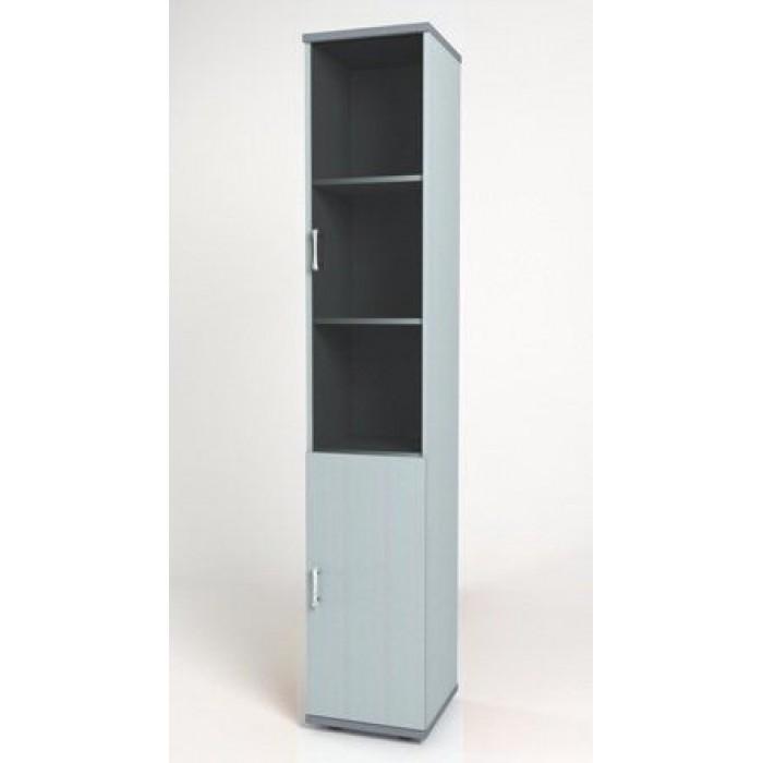 Шкаф узкий 374х390х2046 КМ9 Монолит