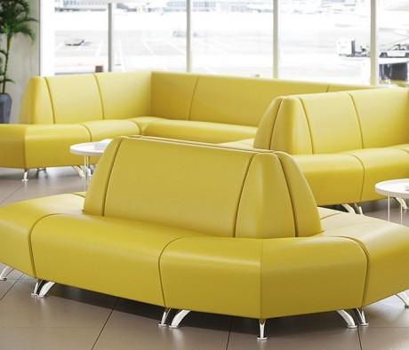 Комплект мягкой мебели Интер Хром