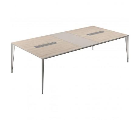 Стол конференц домино поперек 2800x1400x725 Atlas