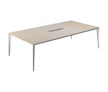 Стол конференц домино вдоль 2800x1400x725 Atlas