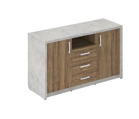 Комод (греденция) с ящиками Wood&Stone