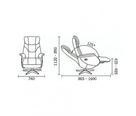 Кресло Relax Monarch